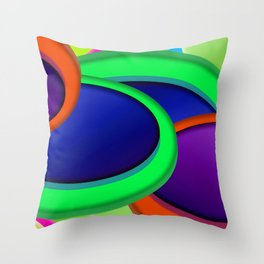 Some buttons ... Throw Pillow