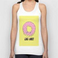donut Tank Tops featuring Donut by Eduardo Doreni