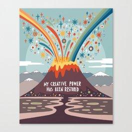My creative power Canvas Print