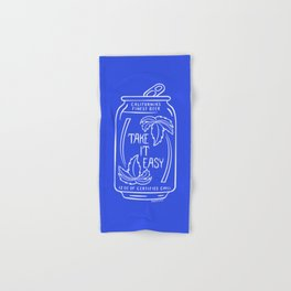 TAKE IT EASY BEER Hand & Bath Towel