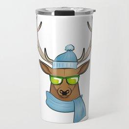 cool stag Travel Mug
