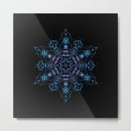 Saiph Star Mandala Metal Print