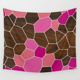 Geode in Pink Wall Tapestry