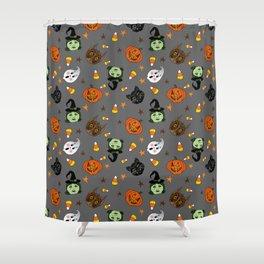 Halloween Spooks Shower Curtain