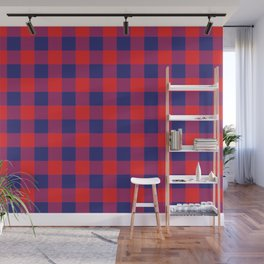Plaid African Wall Mural