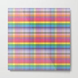 Tartan Plaid Pattern #society6 #decor #buyart #artprint Metal Print