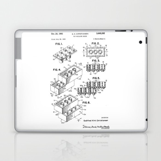 LEGO Bricks Laptop & iPad Skin