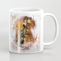 champagne Mugs featuring champagne by Nathalie56
