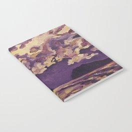 Purple Mountain Notebook