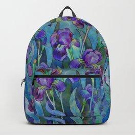 Fantasy Irises Backpack