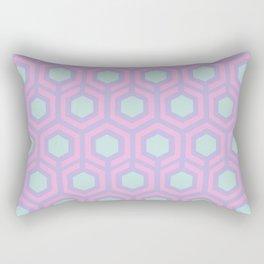 Honeycomb Lilac Rectangular Pillow