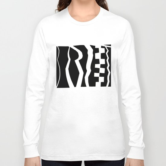 at the front door Long Sleeve T-shirt