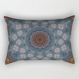 Shibori Blue Rectangular Pillow