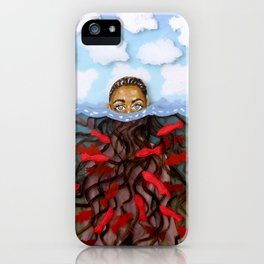 Under Water / Above Water iPhone Case