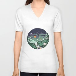 To Boldly Go! Unisex V-Neck
