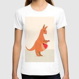 Boxing Kangaroos T-shirt