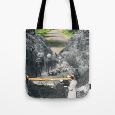 Don't Be Afraid, Expand Your Horizons Tote Bag