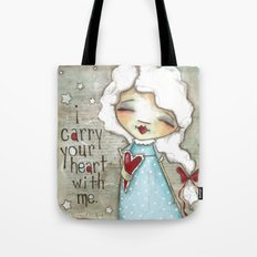 I Carry Your Heart Tote Bag