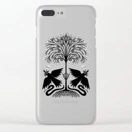 raven garden gift Clear iPhone Case