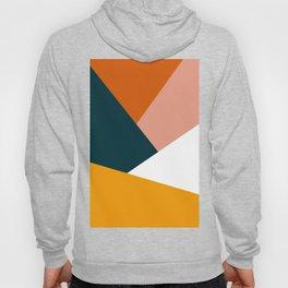 Colorful geometric design in orange & yellow Hoody