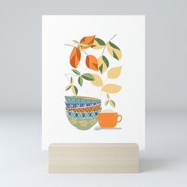 Happy Kitchen Mini Art Print