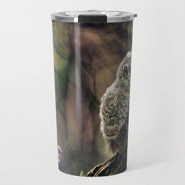 Tawny Owl Chick Travel Mug
