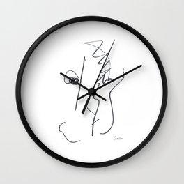 Demeter Moji d14 4-3 w Wall Clock