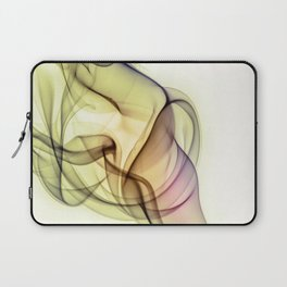 Smoke compositions - red and yellow Laptop Sleeve
