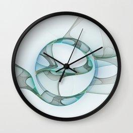 Minimalist Abstract, Fractals Art Wall Clock