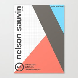 nelson sauvin//single hop Canvas Print