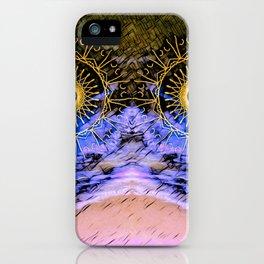 mandala eyes in the sky iPhone Case