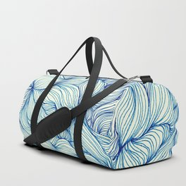 Tangled in Blue Duffle Bag