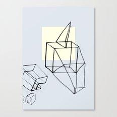 Punk in Paper Canvas Print