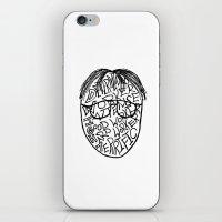 dwight schrute iPhone & iPod Skins featuring DWIGHT by Grace Billingslea