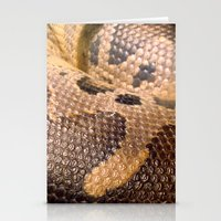 anaconda Stationery Cards featuring Anaconda by theGalary