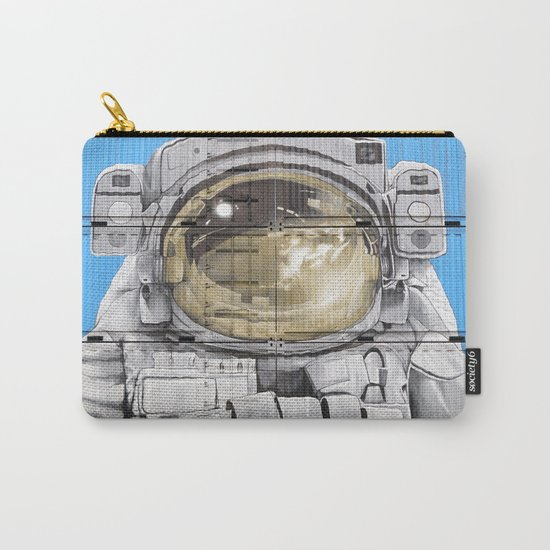Cosmonaut Astronaut 4 Carry-All Pouch