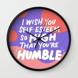 so high Wall Clock
