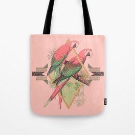 PARROT GARDEN Tote Bag