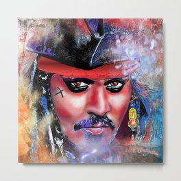 Pirate Metal Print