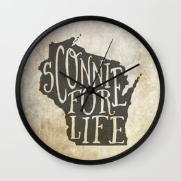 Sconnie for Life Wall Clock