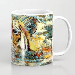 AnimalArt_Tiger_20170601_by_JAMColorsSpecial Coffee Mug