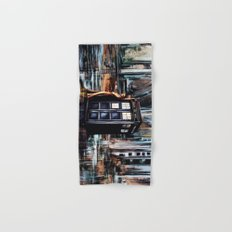 Doctor Who Art Painting Hand & Bath Towel