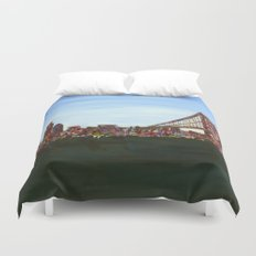 Ben Franklin Bridge Duvet Cover