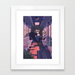 Paw Friendly Car Framed Art Print