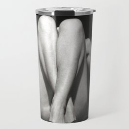 CROSSED LEGS - analog Travel Mug