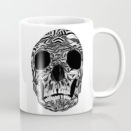 The Carved Skull Coffee Mug