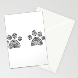paws print Stationery Cards