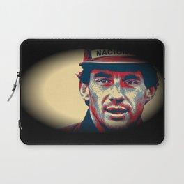 Ayrton Senna Tribute Design II Laptop Sleeve