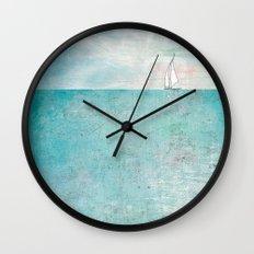 Boat (variation) Wall Clock