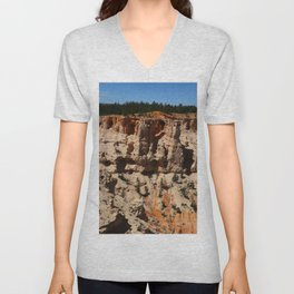 Mind Blowing Bryce Canyon View Unisex V-Neck